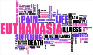 Euthanasia Word Cloud - The Right To Die