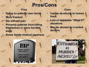 Euthanasia or The Right To Die - Pros and Cons