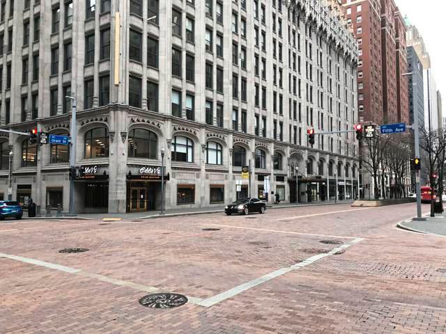 William Holsinger - Emergence - empty city