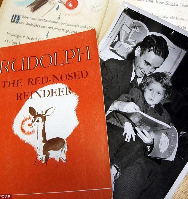 William Holsinger - The Origin of the Song Rudolph the Rednosed Reindeer - Album Cover