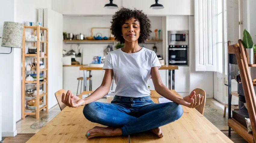 William Holsinger - Styles of Meditation - Loving Kindness Meditation - A woman meditating